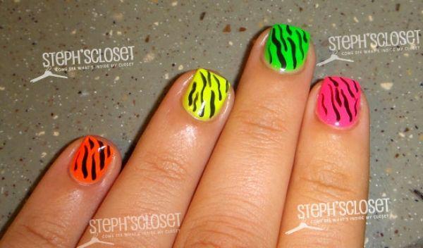 Striped Nail Designs Google Search Nail Paint Pinterest