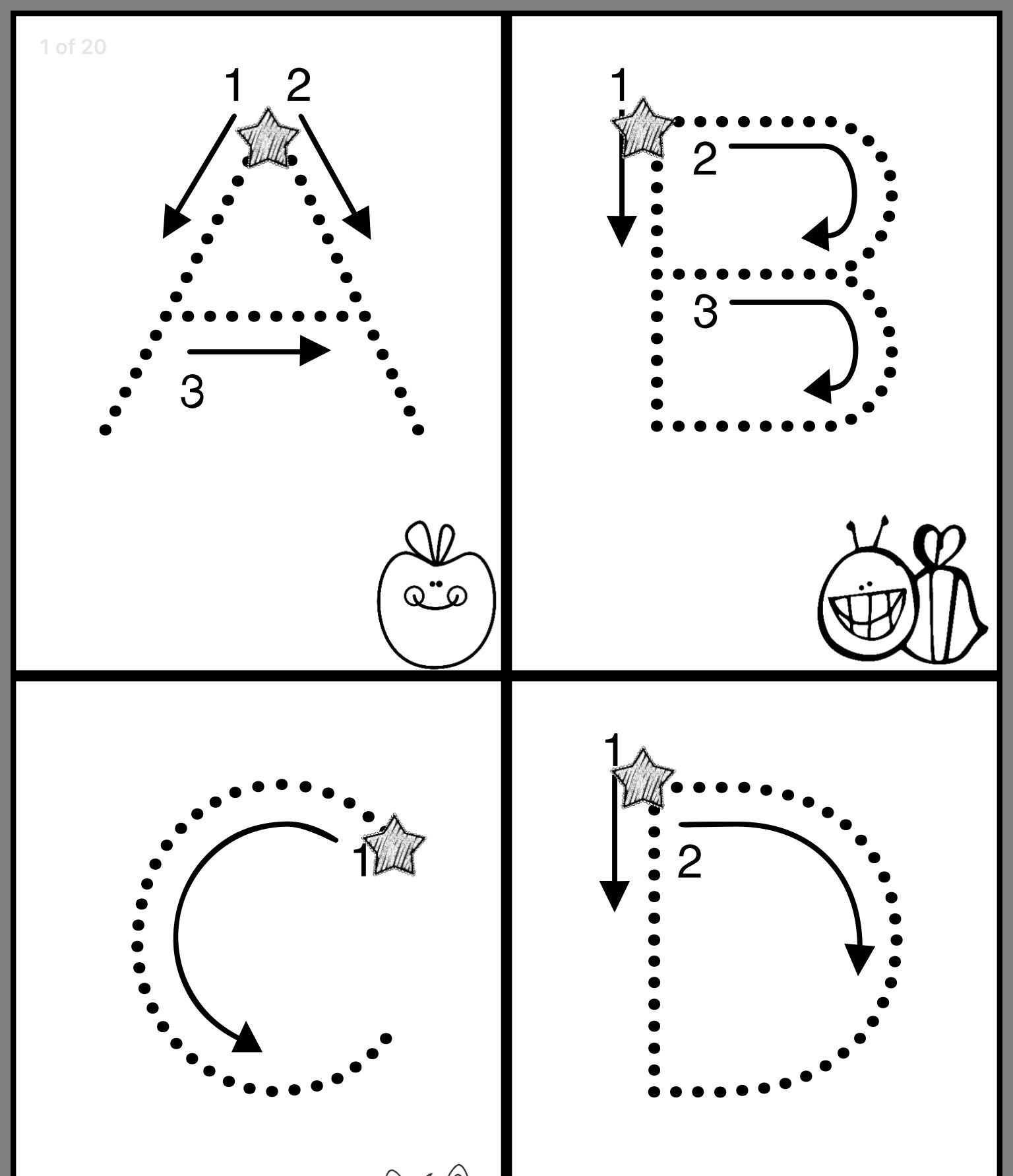 Pin By Tracie Tatum Blakeney On Alphabet Preschool