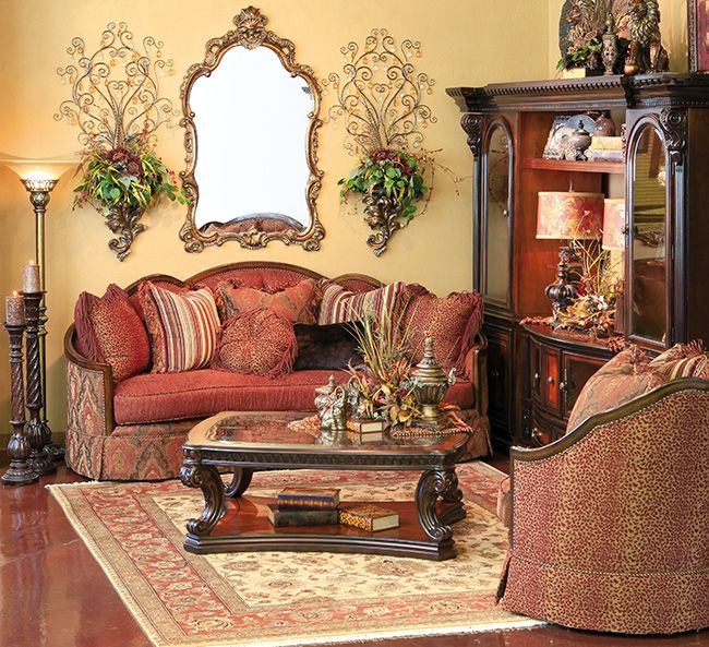 A World Of Fine Furnishings Tuscan Decorating Living Room Tuscany Decor Tuscan Decorating #tuscany #furniture #living #room