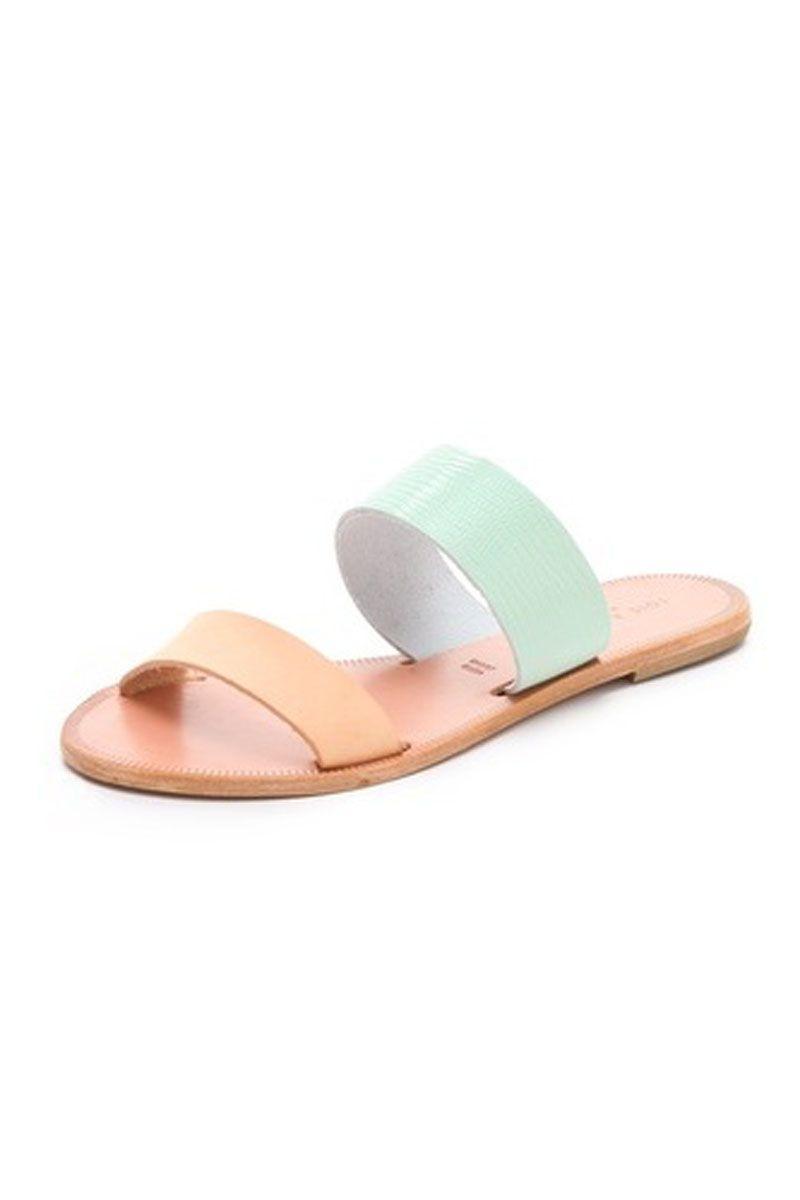6575c28ded5c0d Love Joie A La Plage sandals. So chic and simple.