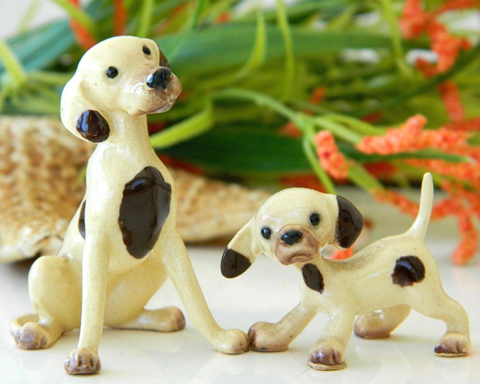 Retired Tiny Hagen Renaker Hound Dog Mama