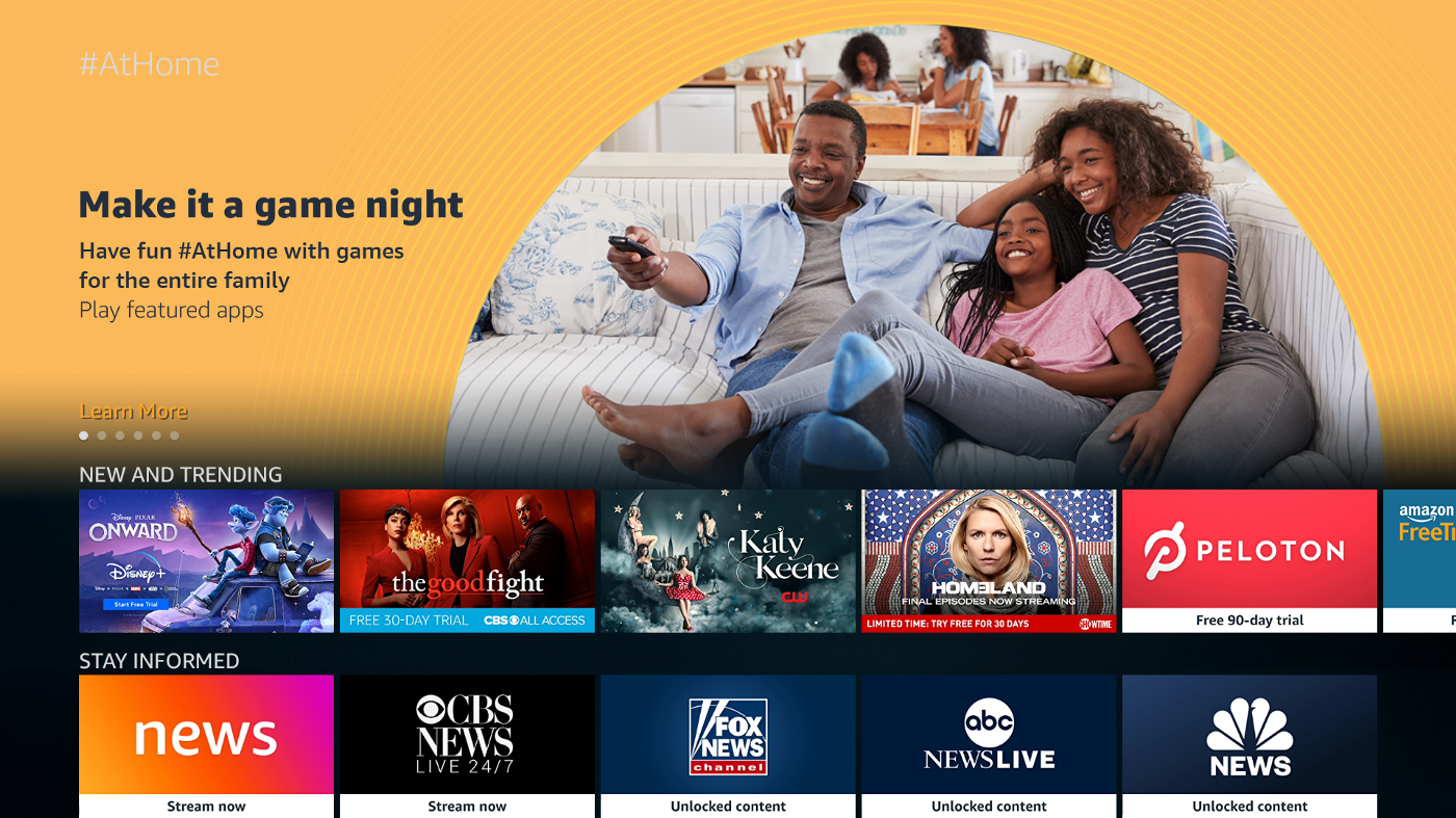 There S A New Curated Section On Fire Tvs And Fire Tablets That Bears Some Resemblance To The Roku Channel Streaming Tv Fire Tv Streaming