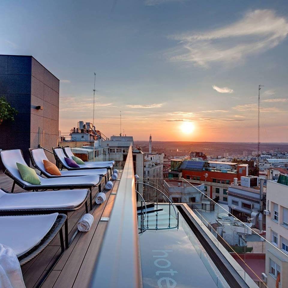 Ginkgo Sky Bar Hotel Vp Plaza España Design En 2019