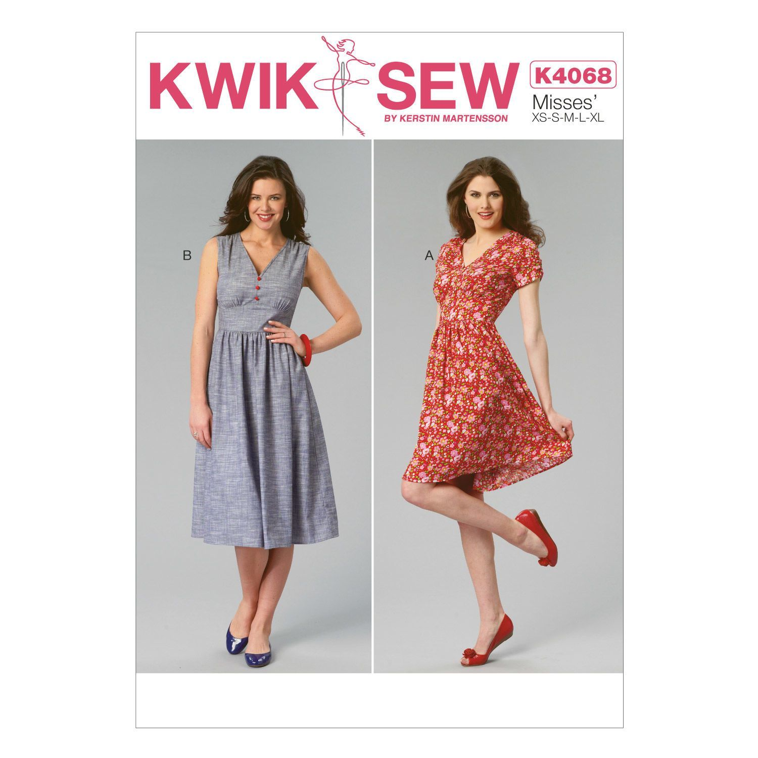 Mccall Pattern K4068 All Sizes -Kwik Sew Pattern | Sewing stuff ...