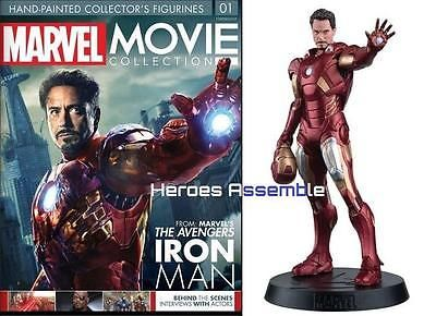 EAGLEMOSS MARVEL MOVIE COLLECTION   ISSUE 1 IRON MAN Magazine Only