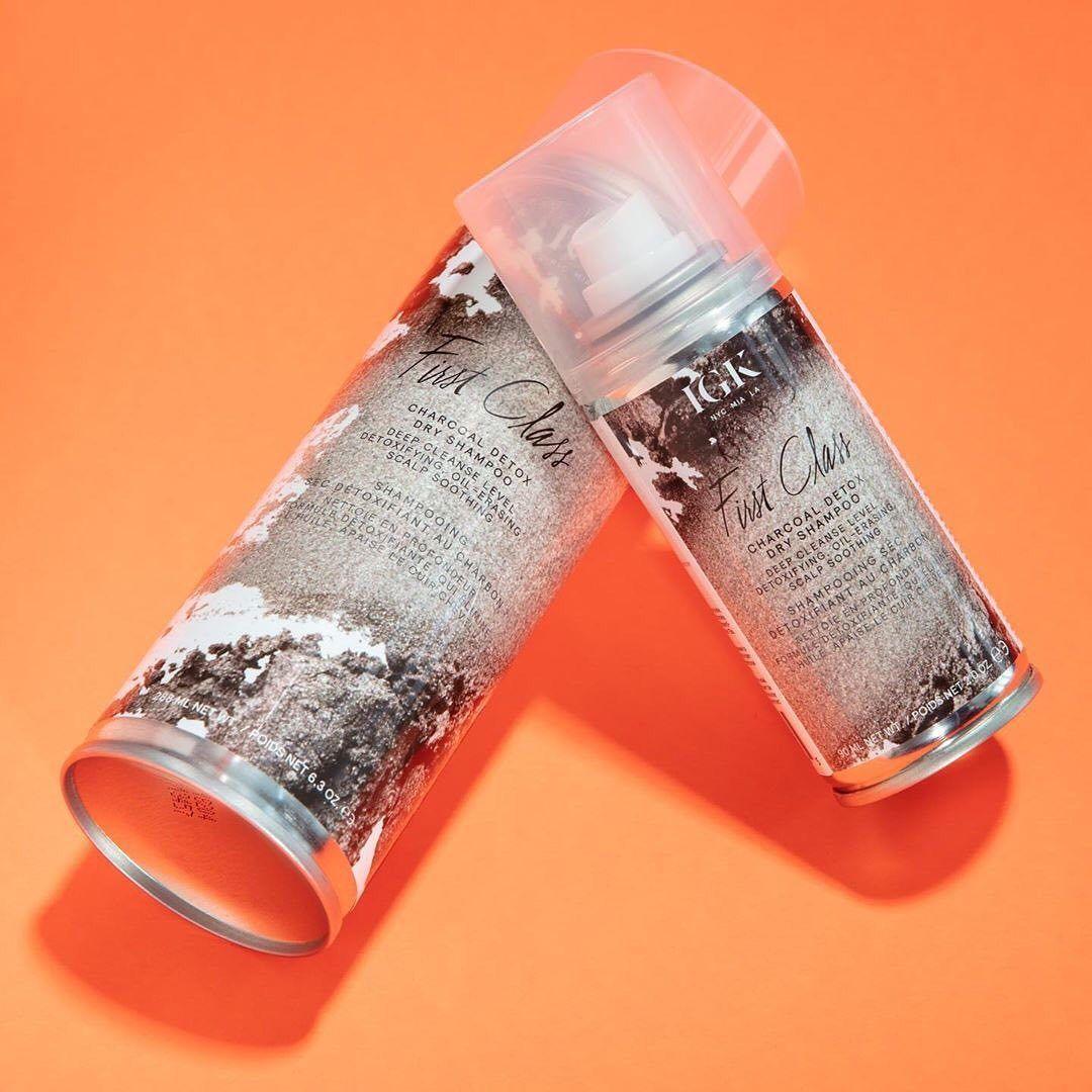 First Class Charcoal Detox Dry Shampoo Igk Sephora Dry Shampoo Charcoal Detox Shampoo