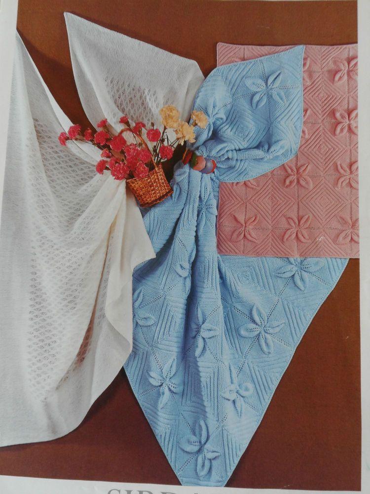 f271878c93e3 Knitting Pattern Sirdar 3266 Baby Shawl