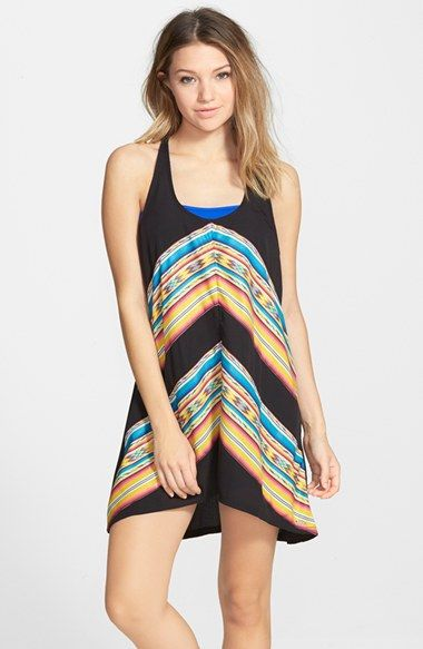 Rip Curl 'Sunset Surf' Cover-Up Dress (Juniors) available at #Nordstrom