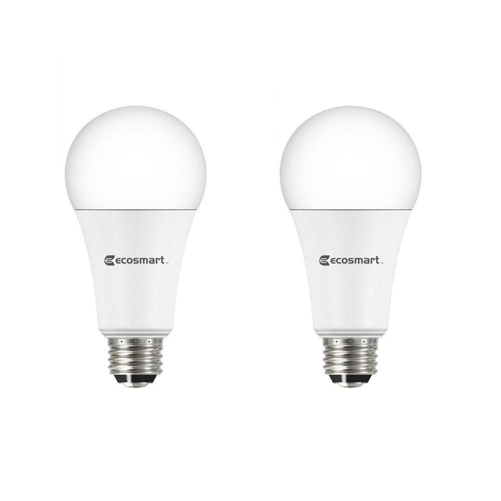 40 60 100 Watt Equivalent A19 3 Way Led Light Bulb Daylight 2 Pack Led Light Bulbs Led Lights Led Light Bulb