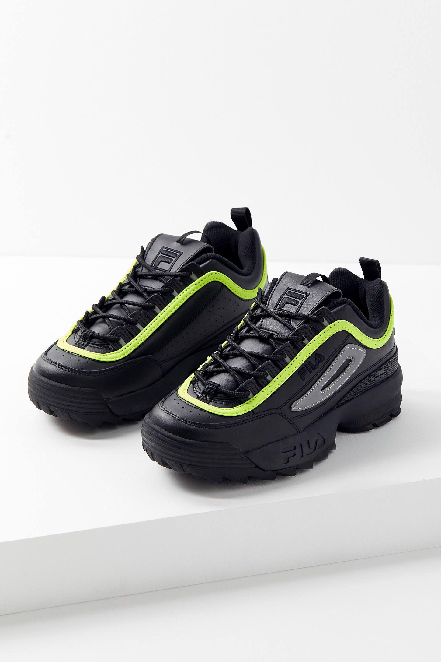 FILA Disruptor 2 Premium Neon Sneaker | Neon sneakers
