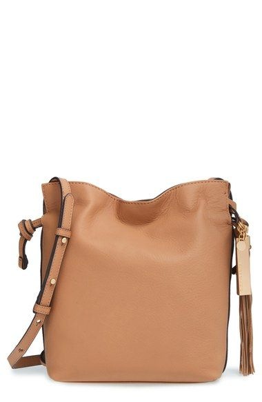 Vince Camuto 'Linny' Leather Crossbody Bag available at #Nordstrom