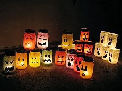 Gothic Romance Reviews Day 40 of Halloween Home Decor Idea, Candle - halloween party decorations for adults