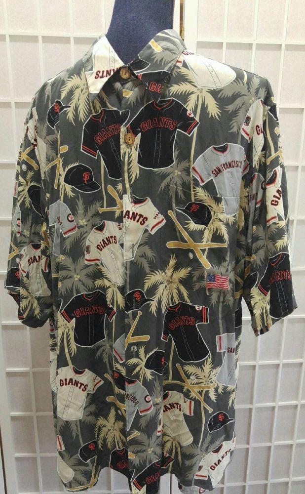 036f04da San Francisco Giants Reyn Spooner Hawaiian Shirt Size Large MLB Men  Baseball #sfgiants #ReynSpooner