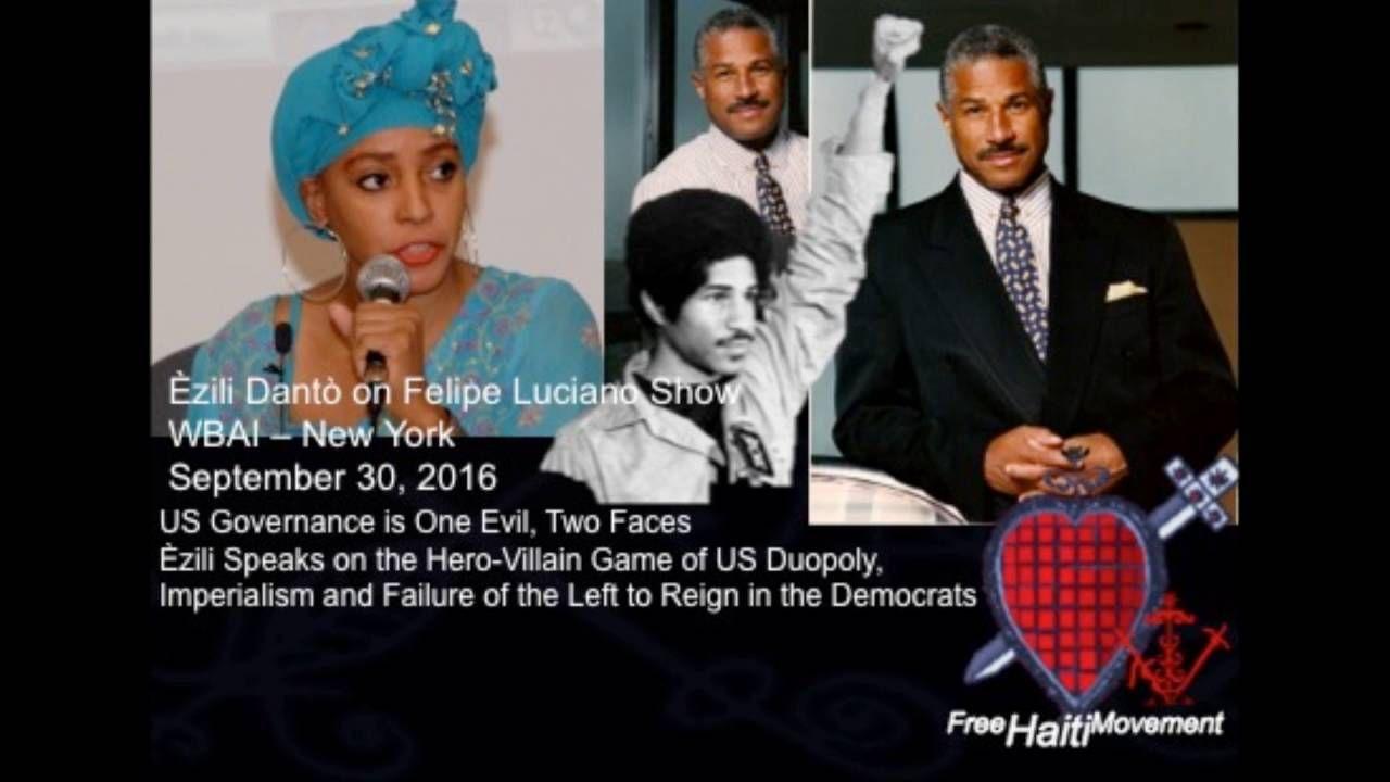 Ezili with Felipe Luciano: Establishment Democrats Enable Hillary Abuses