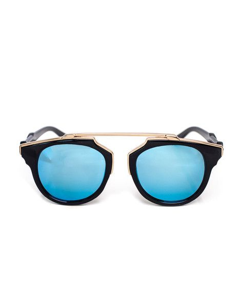 aeb1cd769e Overhang Black and Gold Sunnies Gold Sunglasses