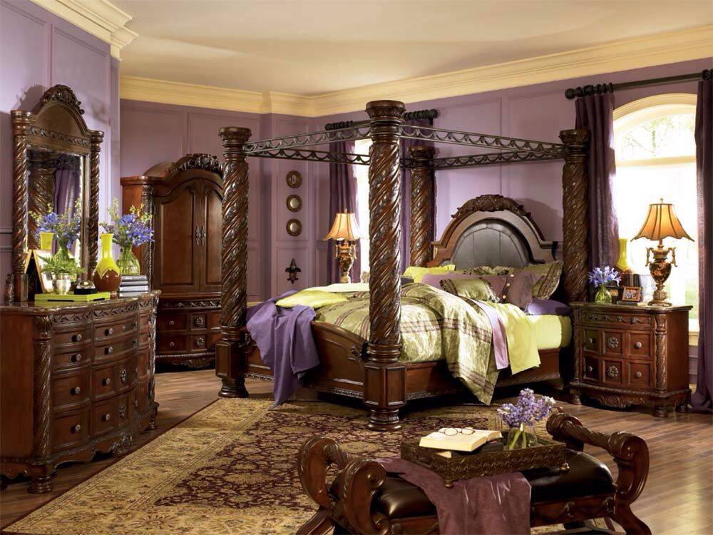 My New Bedroom Set Ashley North Shore Canopy Bedroom Sets King Bedroom Sets King Bedroom Furniture