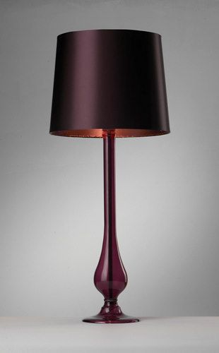 Purple Table Lamp Captivating Dil4061 Dillon Purple Table Lamp  Light Up My Life ~ Lamps Review