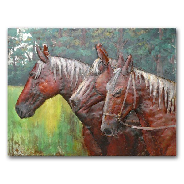 c18ad73289c You ll love the In the Meadow Metal Wall Art at Wayfair - Great Deals on  all D eacute cor  amp  Pillows products with Free Shipping on most stuff