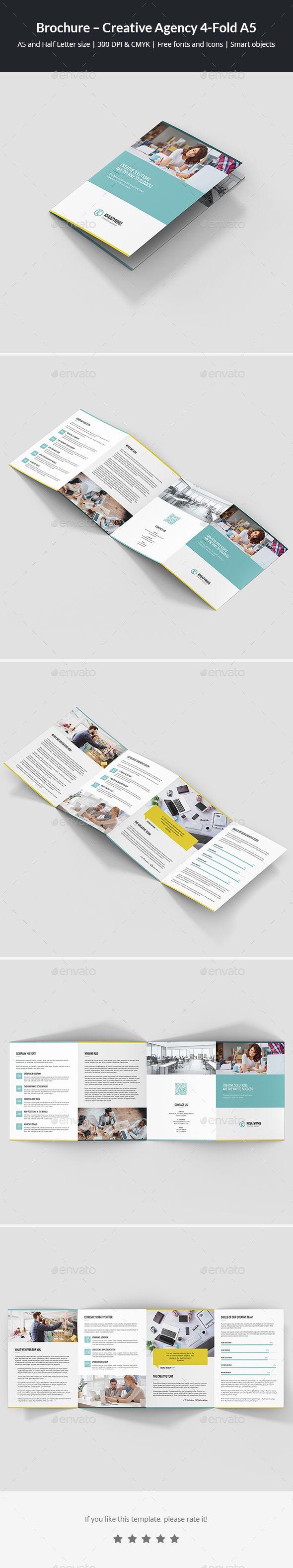 Brochure  Creative Agency Fold A  Brochures Brochure