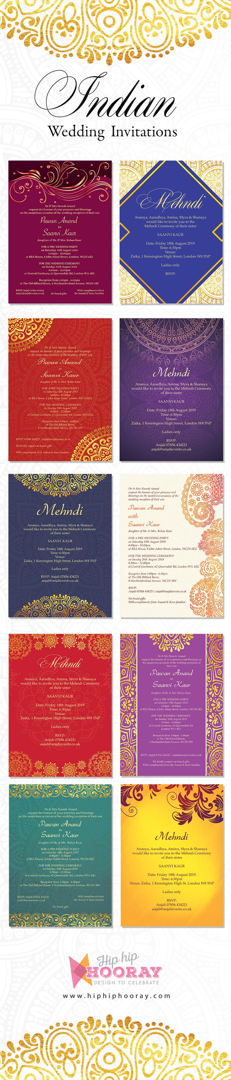 A beautiful collection of bright and vivid Indian wedding ...