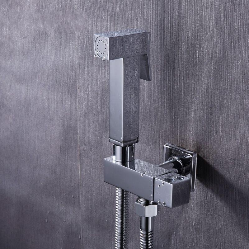 Toilet Brass Hand Held Bidet Spray Shower Head Douche Kit Shatta ...