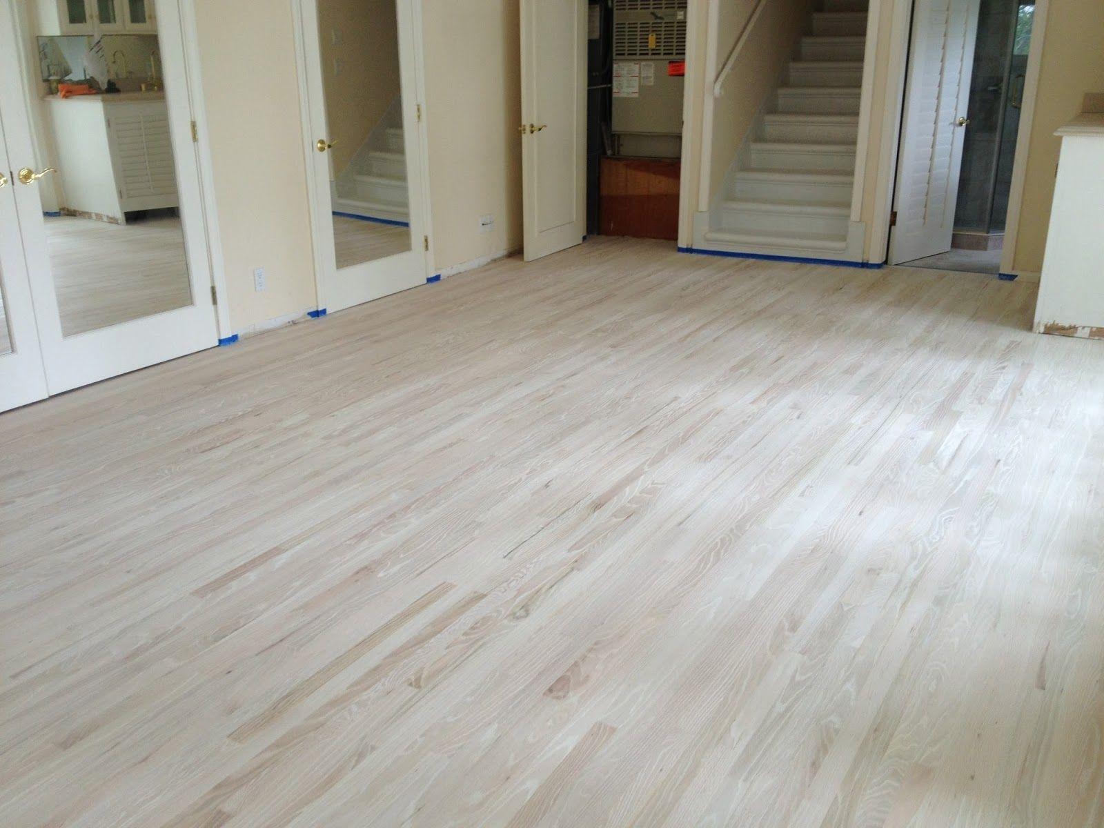 Bleach Wood Floors White White hardwood floors, White