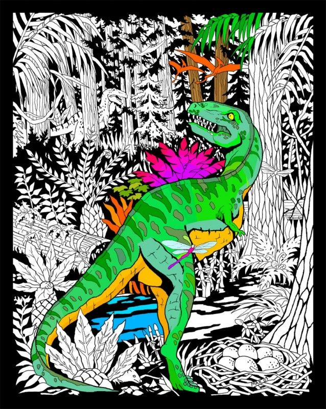 Dinosaur | Fuzzy Posters | Fuzzy posters, Dark ink, Poster ...