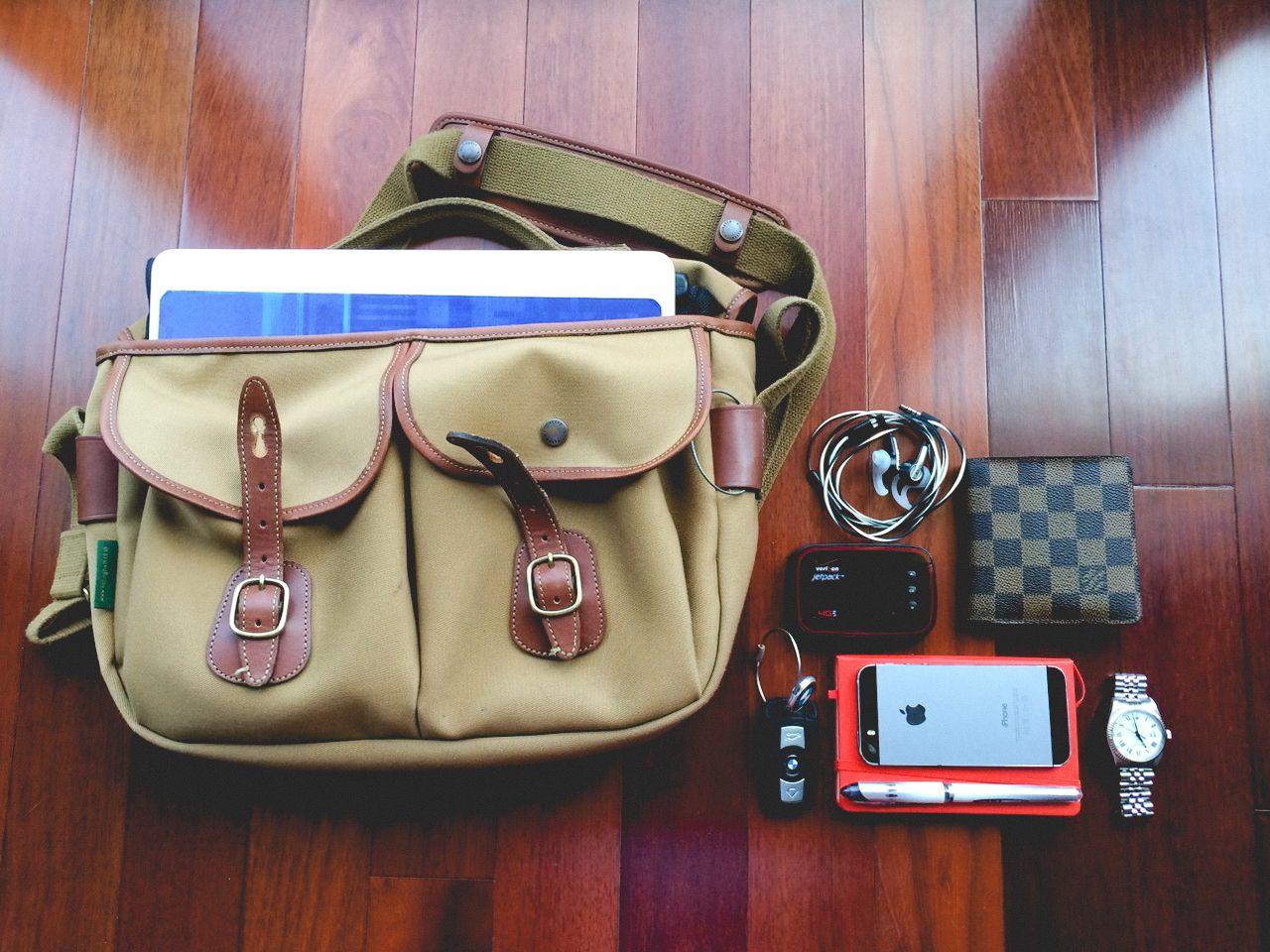 Billingham Hadley Pro 259 Sf Bags Sleeve Case Everyday Carry Shoulder Bag Khaki Chocolate Leather