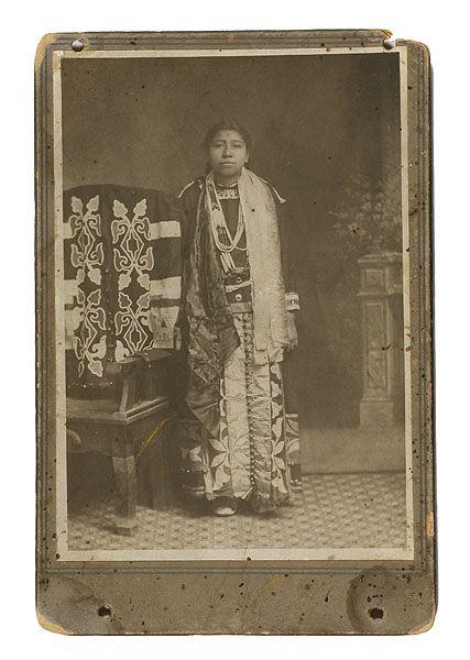 Omaha woman - 1895
