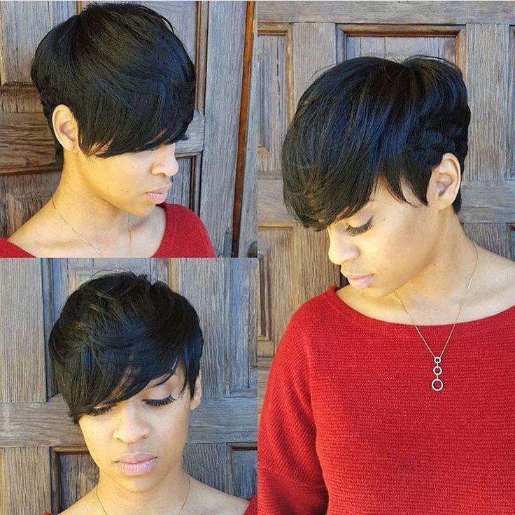 upscale short haircuts black