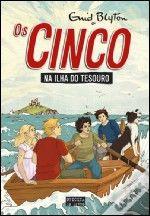 Os Cinco Na Ilha Do Tesouro 1 Literatura Infantil Livros E Aventura