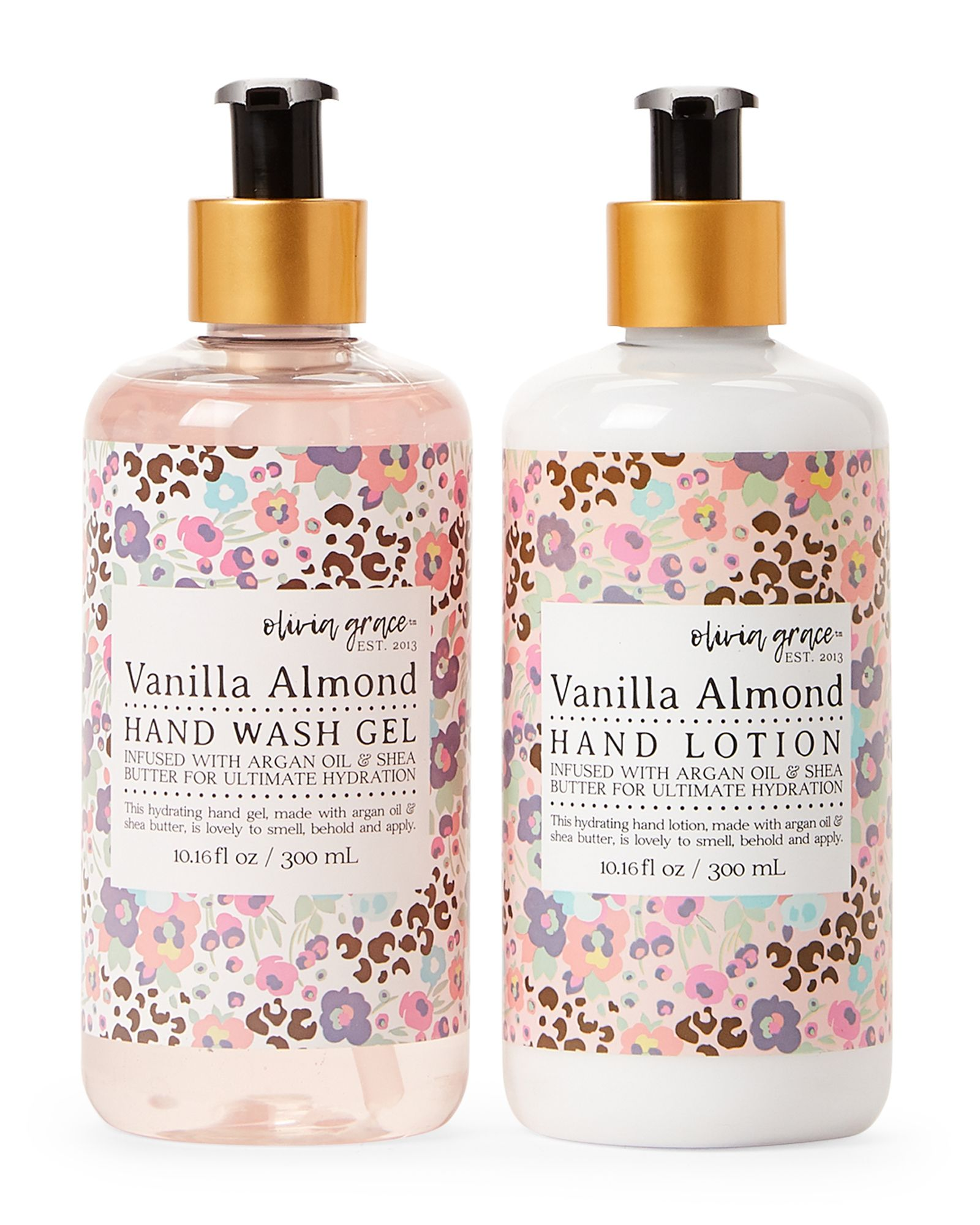 Olivia Grace hand cream collection