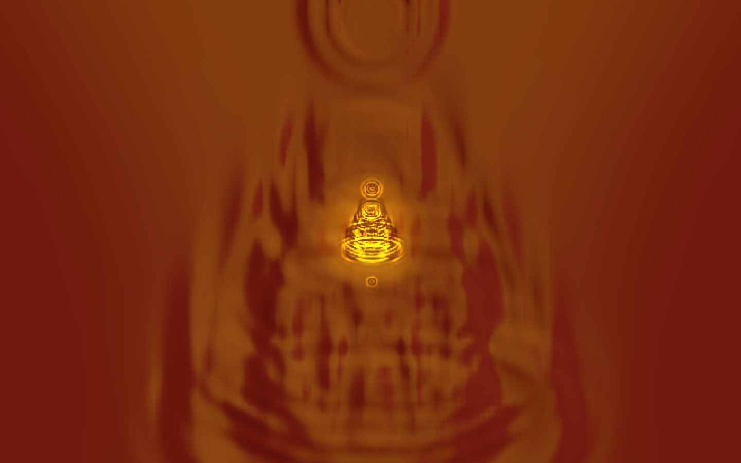Buddha Series.74  From the 108 Harmonic Visions  © 2011 David Hykes all rights reserved