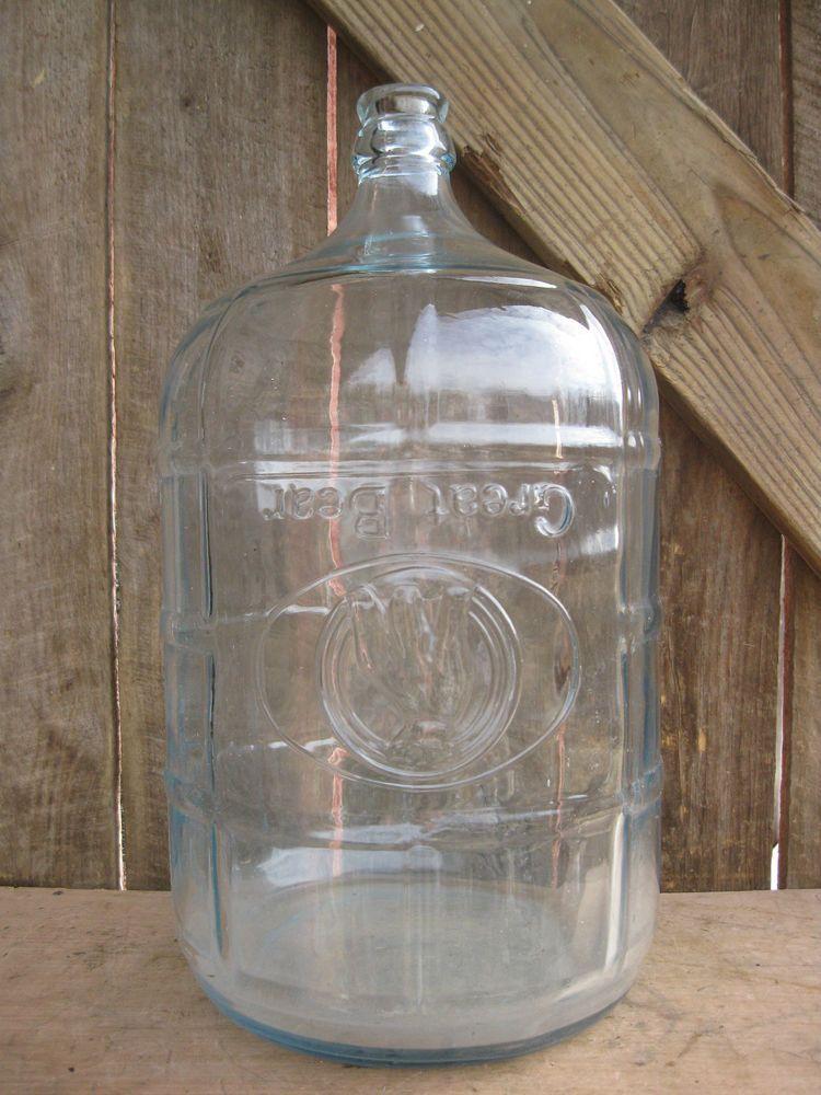 Details About Antique Hinckley Schmitt 5 Gallon Glass Water Bottle