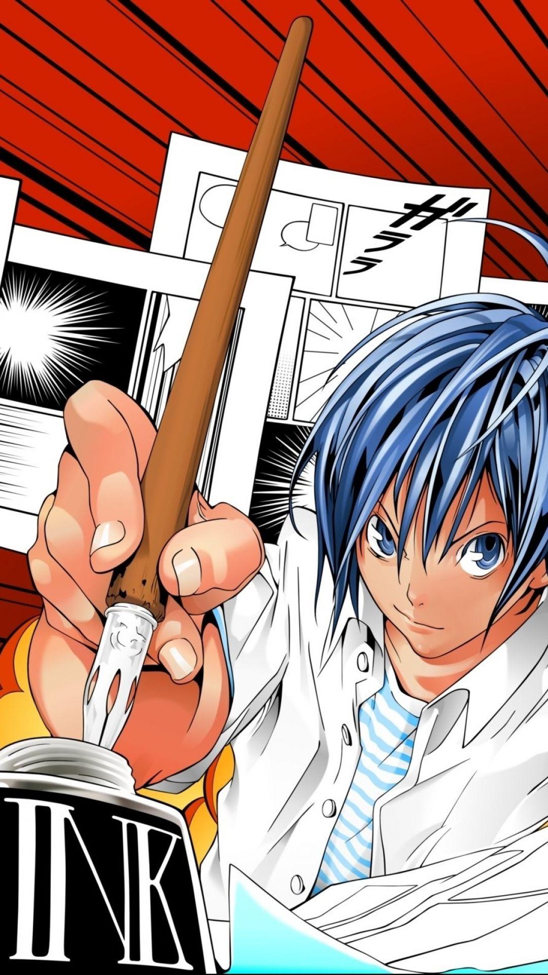 Bakuman Hd Wallpapers And Backgrounds Manga Vs Anime Anime Manga