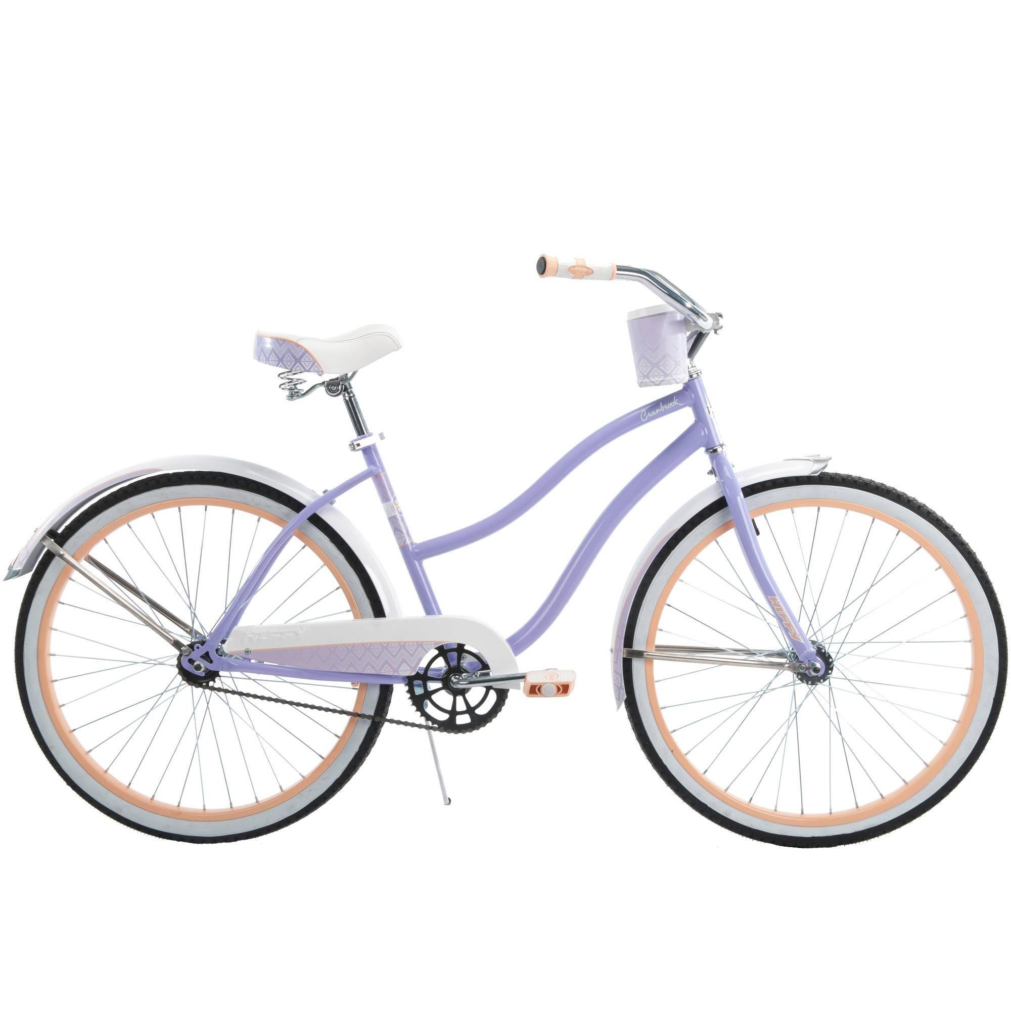 26 Huffy Cranbrook Women S Cruiser Bike Lilac Walmart Com