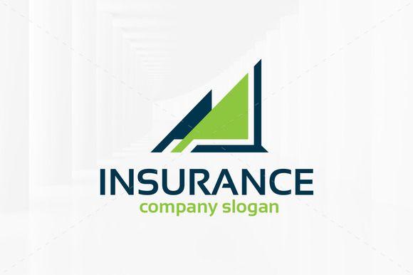 insurance logo template  Insurance Logo Template by LiveAtTheBBQ on @creativemarket | PSD ...