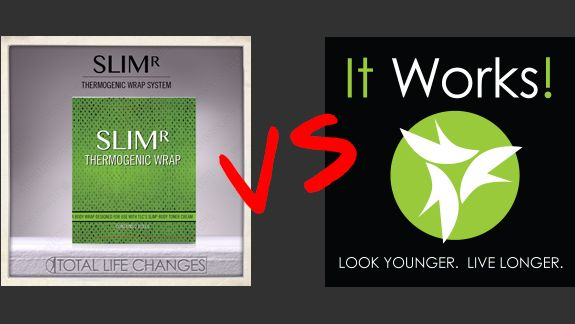 Slimr Body Wraps Vs It Works Body Wraps Total Life Changes