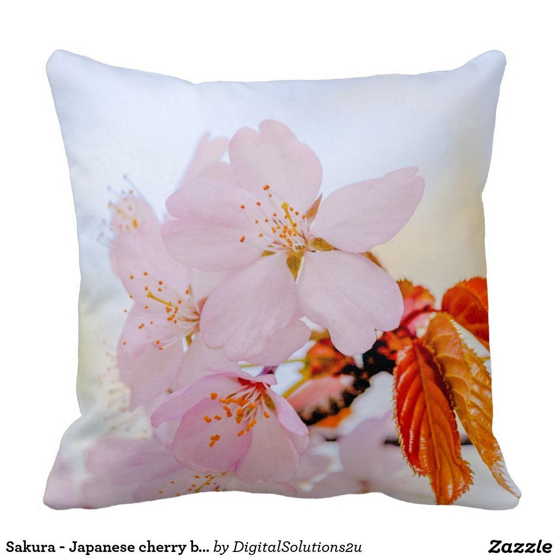 Sakura - Japanese cherry blossom Pillow