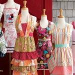 Vintage aprons ~ makes me want to bake