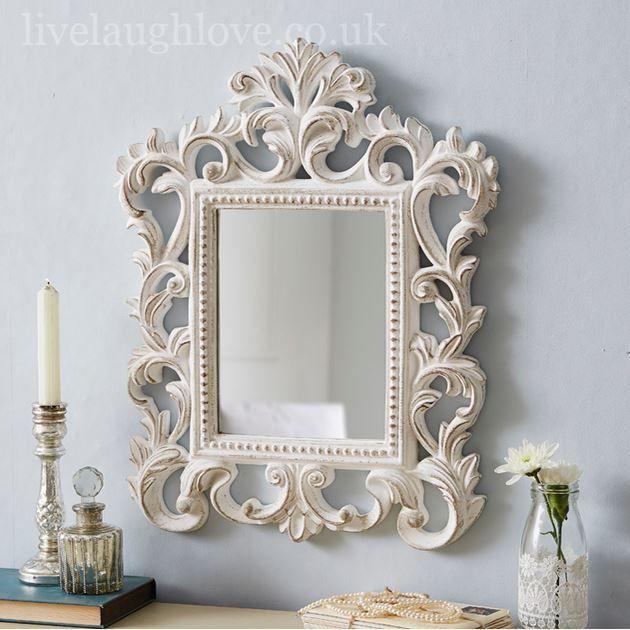Mirrors Home Decor Shabby Chic Mirror Read More Chic Decor Home Mirror Shabby Chic Mirror Shabby Chic Curtains Chic Mirror