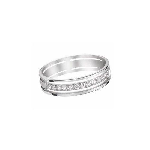 Relativ Bague de mariage sertie de diamants, modèle moderne, corps de  FO78