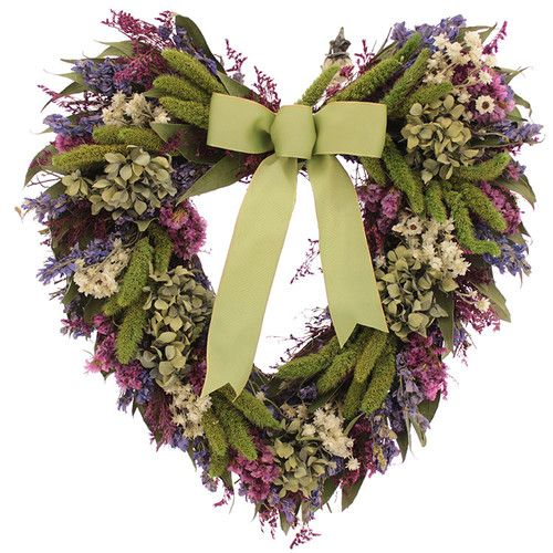 Found it at Wayfair - Bliss Garden Heart Wreath