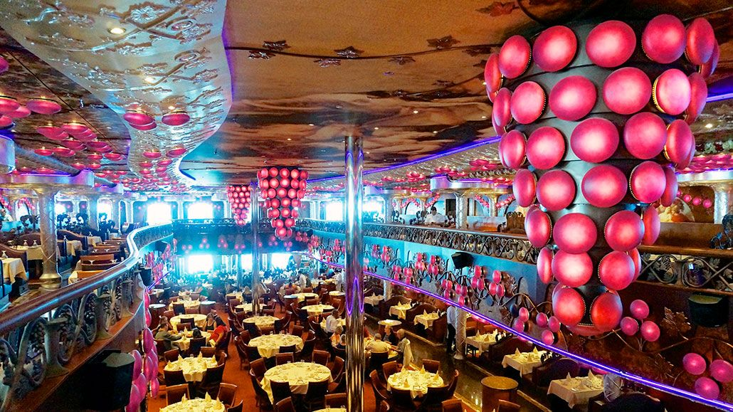 Bacchus Dining Room Carnival Miracle From Under The