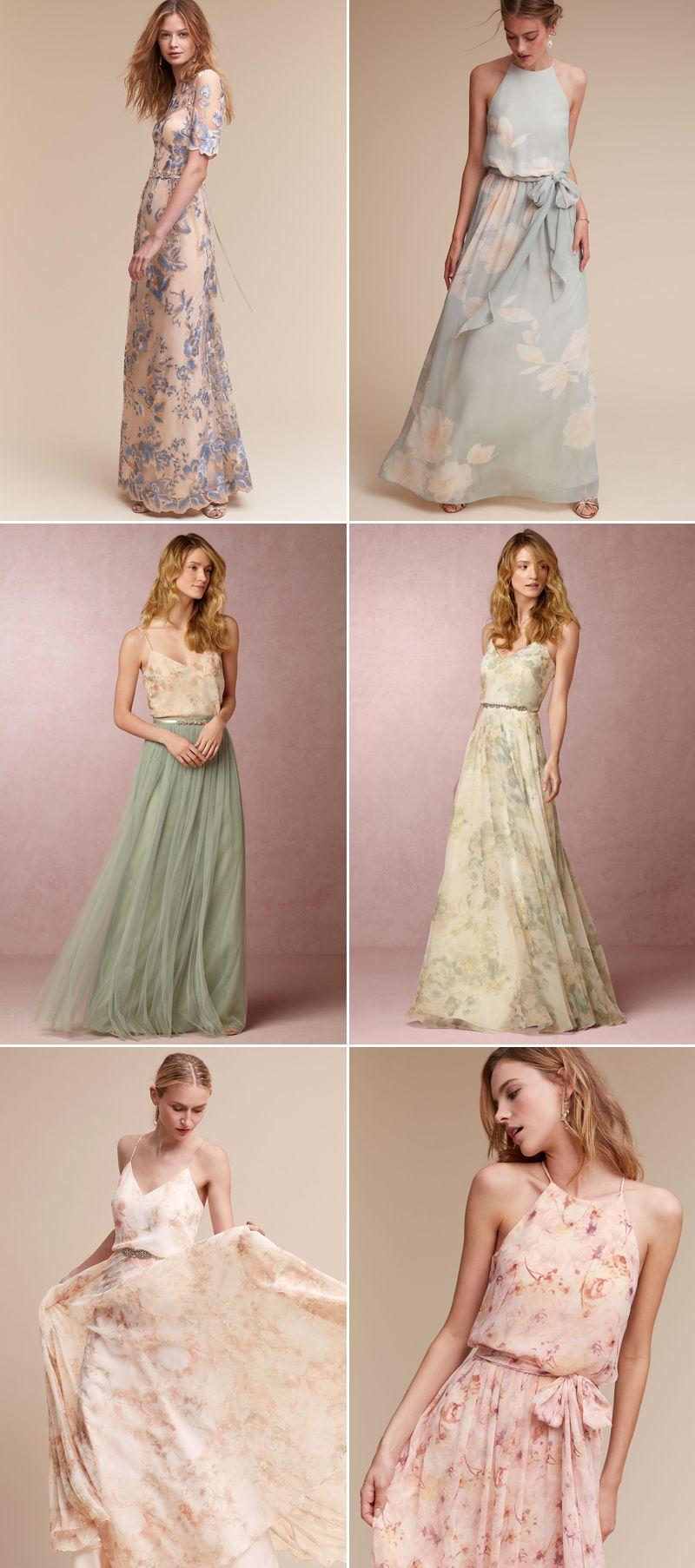 Love blooms romantic floral bridesmaid dresses your girls will romantic floral bridesmaid dresses your girls will love ombrellifo Image collections