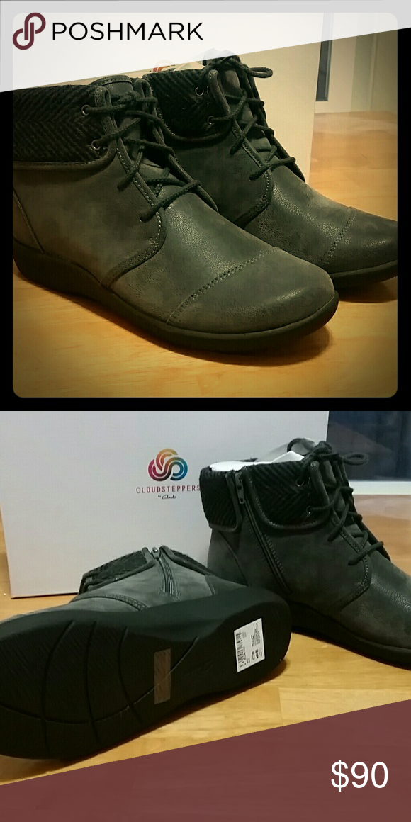 Clarks Shoes | Sillian Frey Cloudsteppers | Color: Gray
