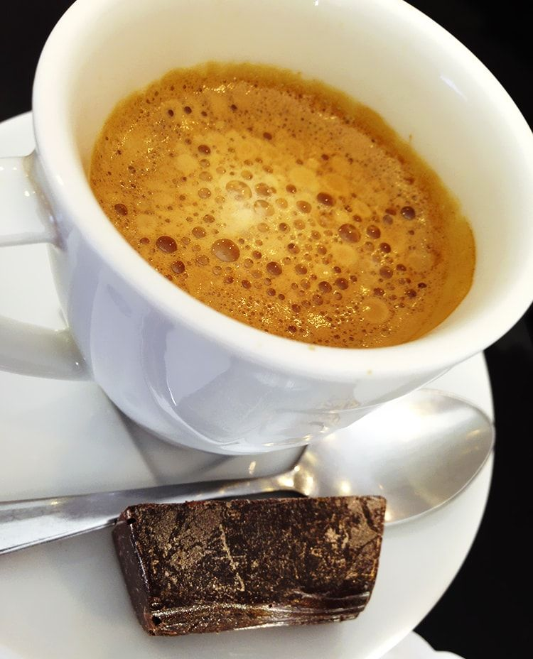 Café Expresso Ristretto. #cafe #chocolate #coffee #bebocafe