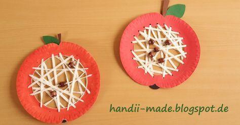 Apfel Basteln äpfel Basteln Apfel Malen Fensterbilder Einfach