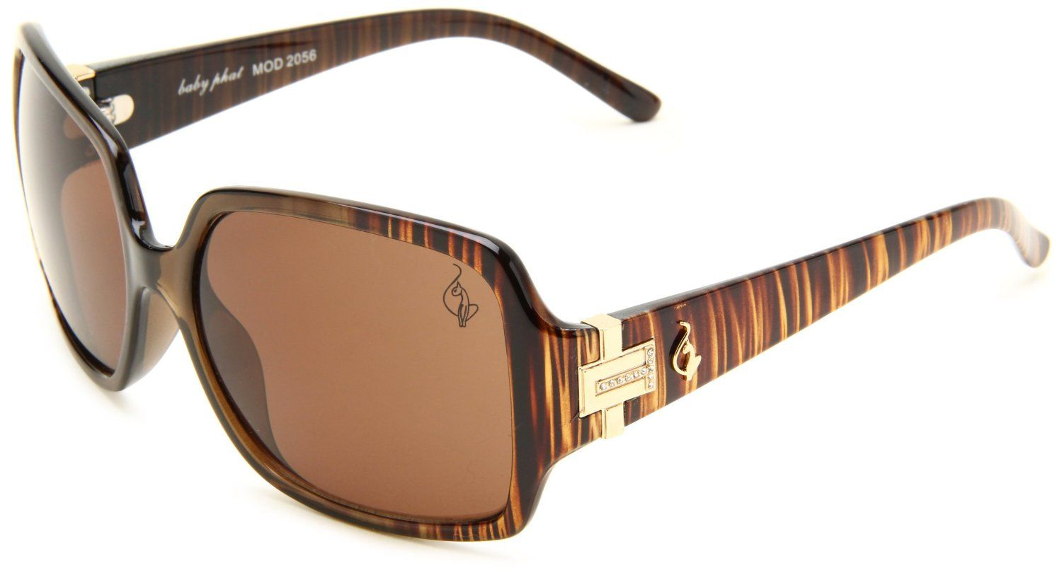 Baby Phat Women\'s B2056 Rectangle Sunglasses i want to buy these ...