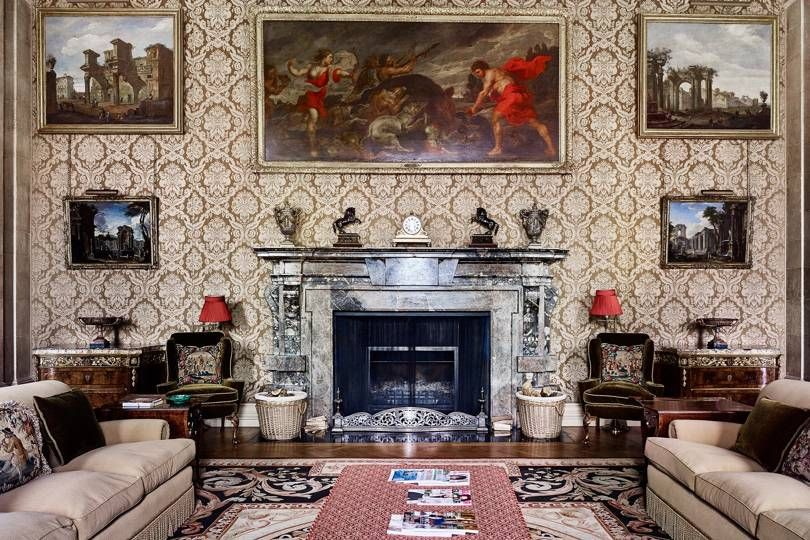 Photo of Inside Easton Neston: Fashion tycoon Leon Max's English stately